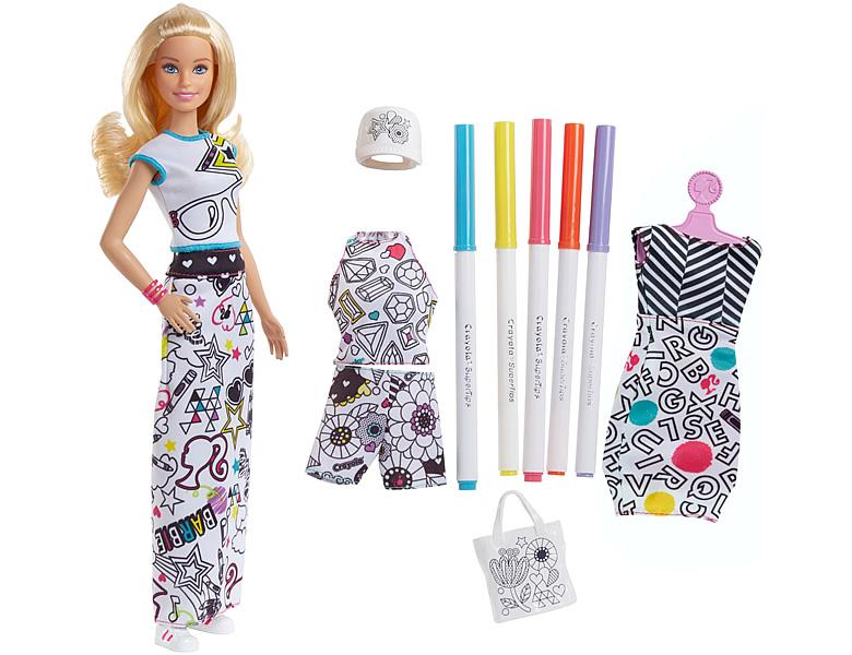 barbie fashion friends farbspass moden puppe blond. Black Bedroom Furniture Sets. Home Design Ideas