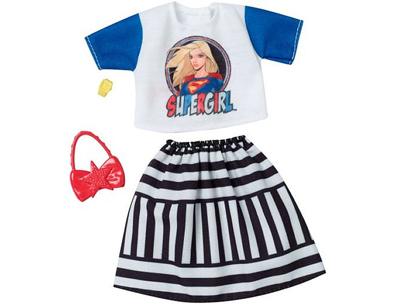 barbie fashions komplettes outfit dc comics 1 puppenkleider. Black Bedroom Furniture Sets. Home Design Ideas