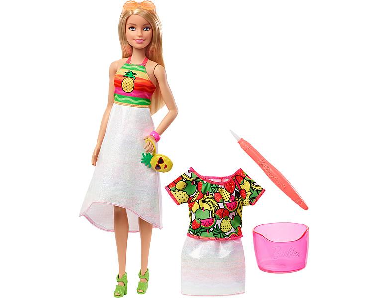 barbie fashion friends loves crayola fruchtiger. Black Bedroom Furniture Sets. Home Design Ideas