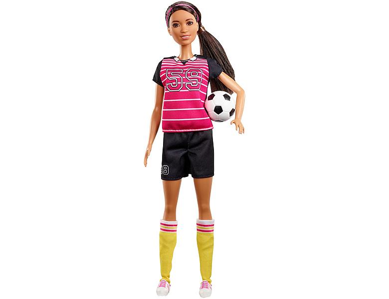 barbie karrieren 60th anniversary fussballspielerin. Black Bedroom Furniture Sets. Home Design Ideas
