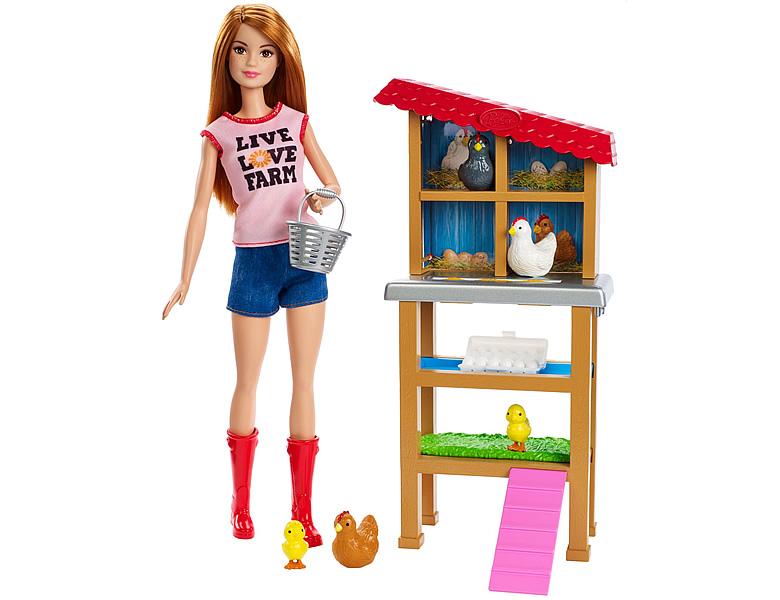 barbie karrieren h hnerz chterin modepuppen. Black Bedroom Furniture Sets. Home Design Ideas