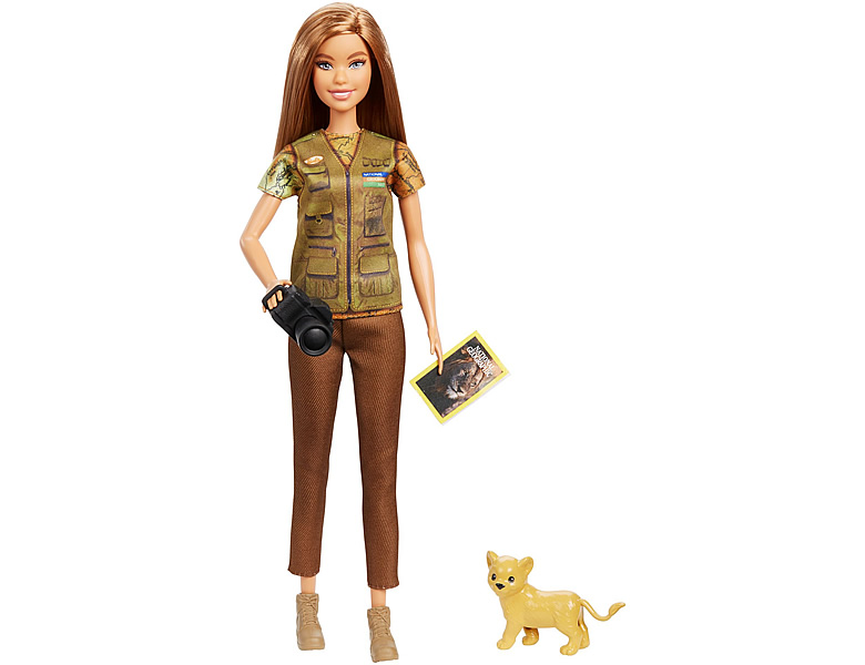 barbie karrieren photojournalistin modepuppen. Black Bedroom Furniture Sets. Home Design Ideas