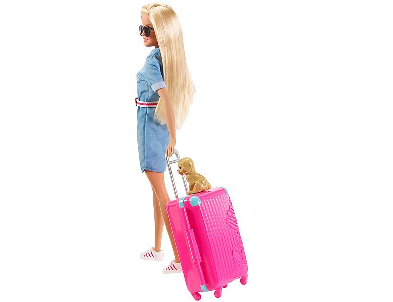 barbie familie freunde reise puppe und zubeh r blond. Black Bedroom Furniture Sets. Home Design Ideas