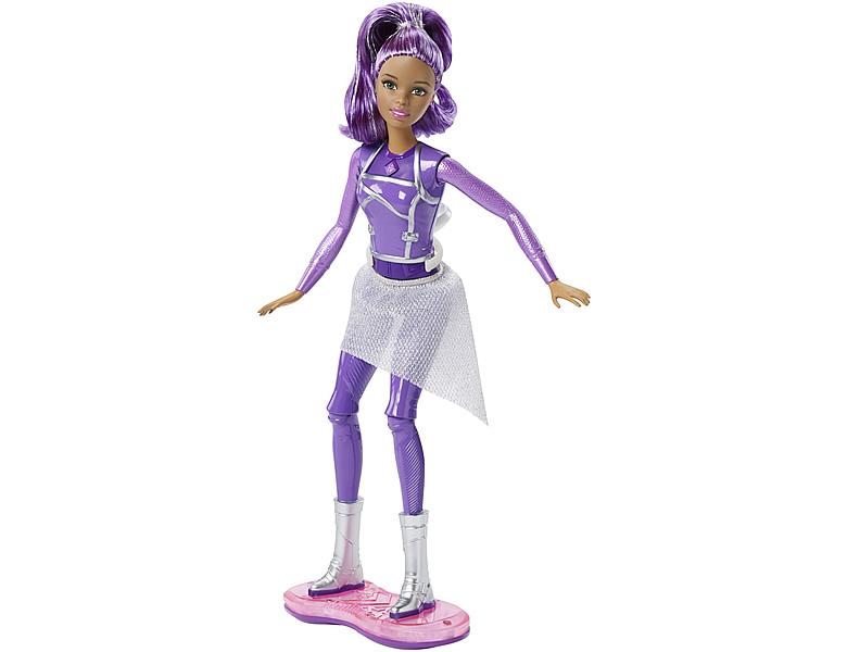 barbie star light adventure lights sounds hoverboard puppe modepuppen. Black Bedroom Furniture Sets. Home Design Ideas