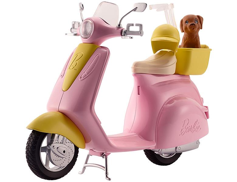barbie h user fahrzeuge motorroller puppenzubeh r. Black Bedroom Furniture Sets. Home Design Ideas