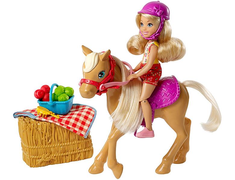 barbie spass auf dem bauernhof chelsea mit pony spielesets. Black Bedroom Furniture Sets. Home Design Ideas