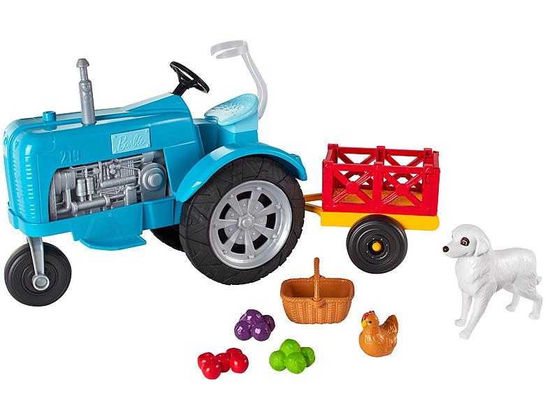 barbie spass auf dem bauernhof traktor puppenzubeh r. Black Bedroom Furniture Sets. Home Design Ideas