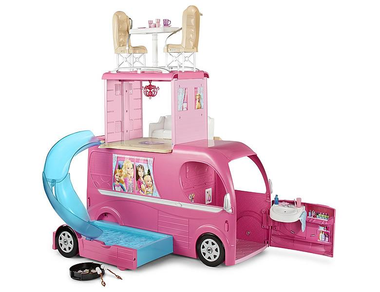 barbie super ferien camper | puppen zubehör