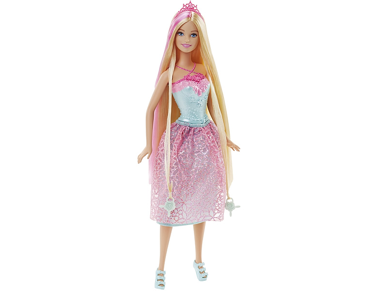 barbie dreamtopia zauberhaar prinzessin pink modepuppen. Black Bedroom Furniture Sets. Home Design Ideas