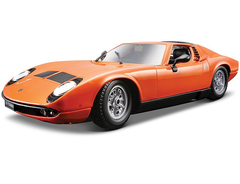 bburago 1 18 lamborghini miura 1968 orange die cast modelle. Black Bedroom Furniture Sets. Home Design Ideas