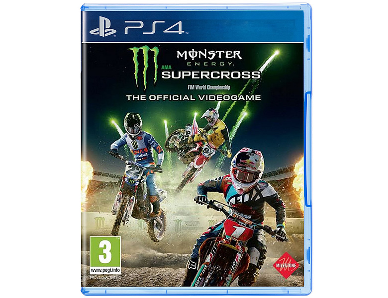 Milestone PS4 Monster Energy Supercross