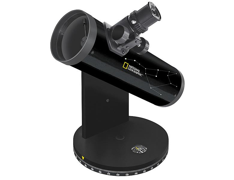 bresser national geographic 76 350 kompakt teleskop. Black Bedroom Furniture Sets. Home Design Ideas
