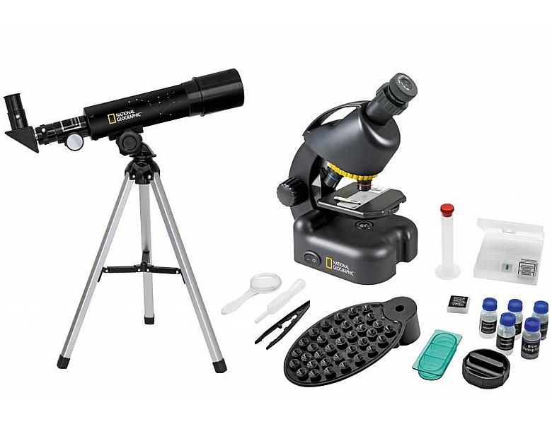 Bresser national geographic kompakt teleskop mikroskop entdecken