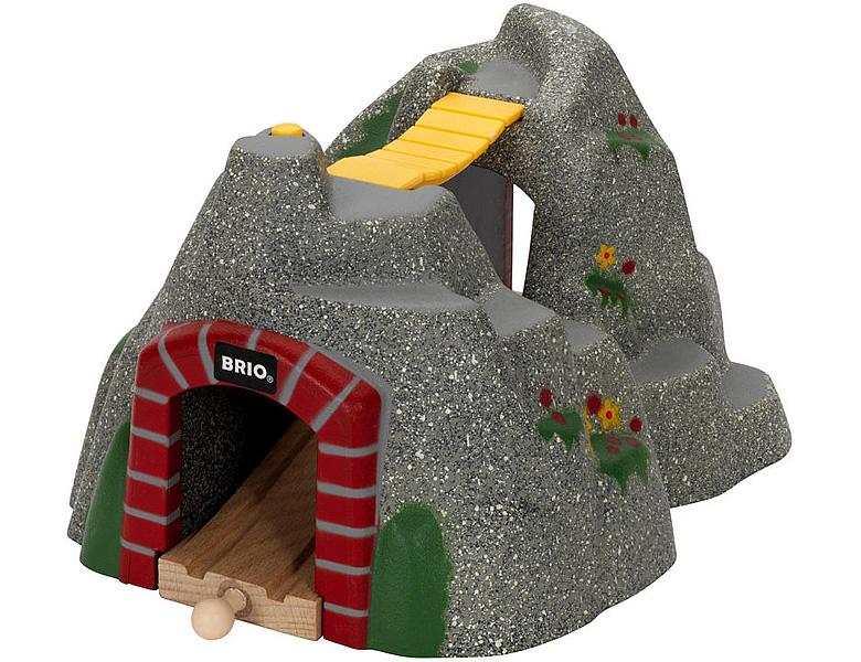 brio magischer tunnel schienen strassen. Black Bedroom Furniture Sets. Home Design Ideas