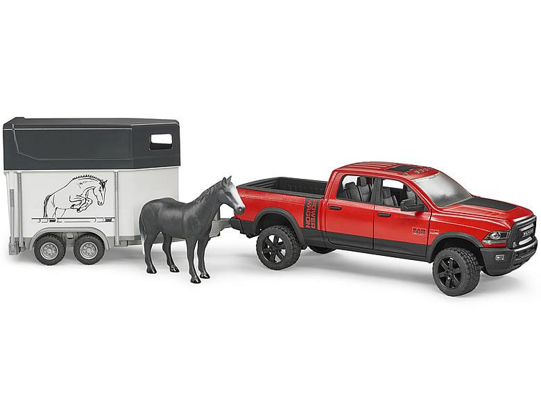 bruder dodge ram 2500 mit pferdeanh nger spielzeugauto. Black Bedroom Furniture Sets. Home Design Ideas