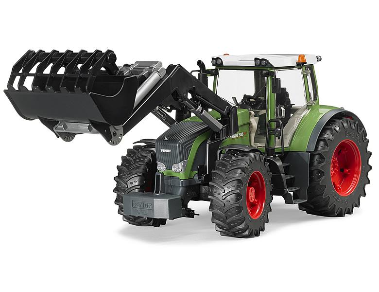 Bruder fendt vario mit frontlader traktoren