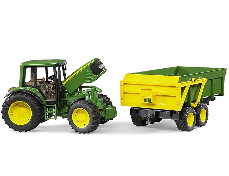 bruder john deere 6920 mit anh nger traktoren. Black Bedroom Furniture Sets. Home Design Ideas