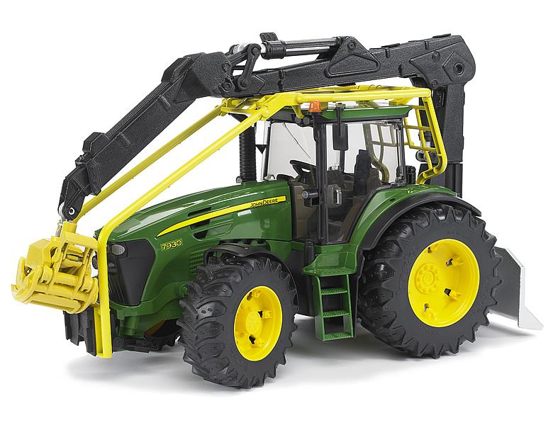 Bruder john deere 7930 forsttraktor traktoren
