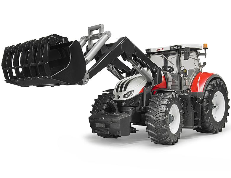 Bruder steyr terrus cvt mit frontlader traktoren