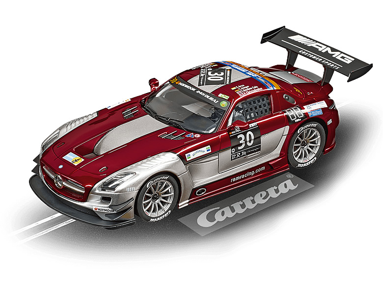 carrera digital 124 mercedes sls amg gt3 ram racing. Black Bedroom Furniture Sets. Home Design Ideas
