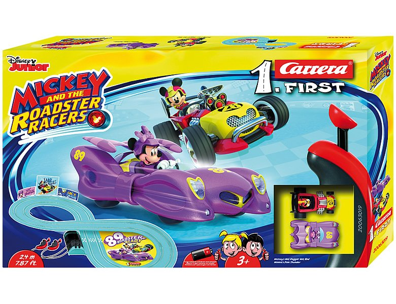 Carrera First Mickey Roadster 2,4m Mickey Mouse