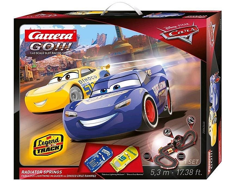 Carrera Go Disney Cars Radiator Springs 5,3m