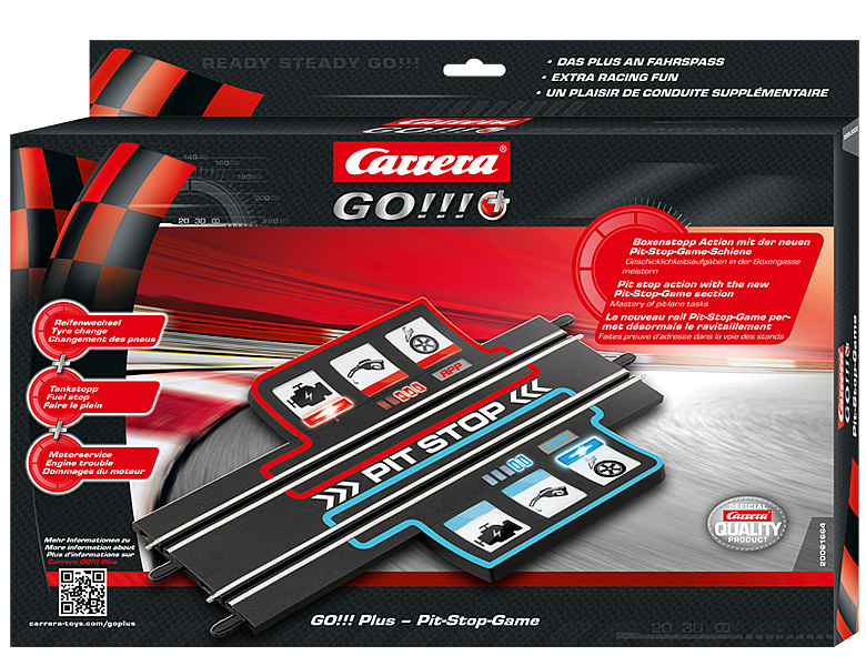 Carrera Go Plus Pit Stop-Game