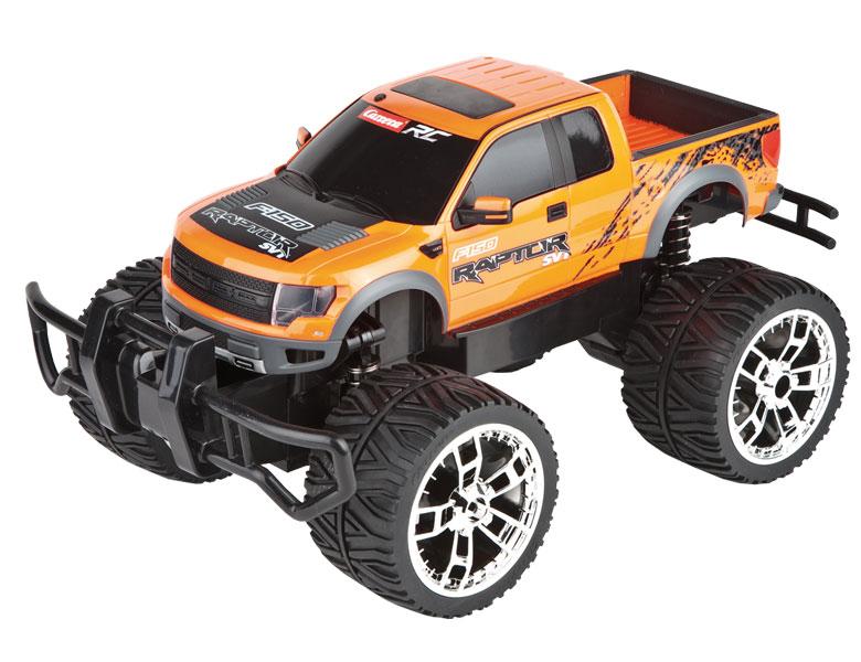 carrera rc rc ford f 150 raptor orange servo tronic offroad fahrzeuge. Black Bedroom Furniture Sets. Home Design Ideas