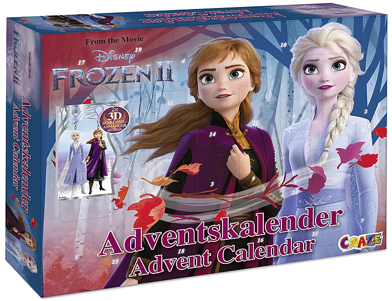 Craze Disney Frozen 2 Adventskalender 2019