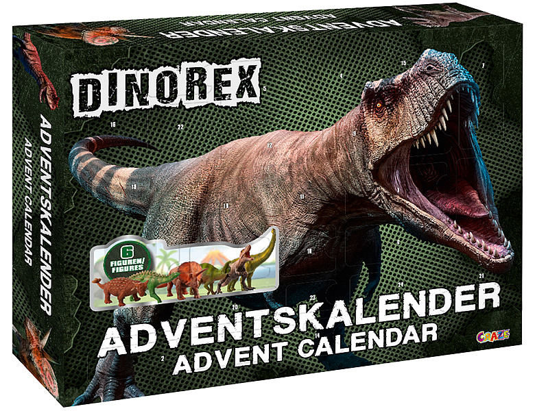 Craze Adventskalender Dinorex