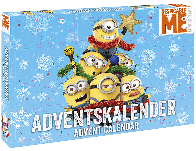 craze adventskalender minions. Black Bedroom Furniture Sets. Home Design Ideas