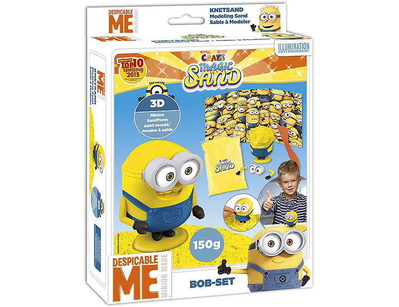 Craze Magic Sand Bob-Playset Minions 150g
