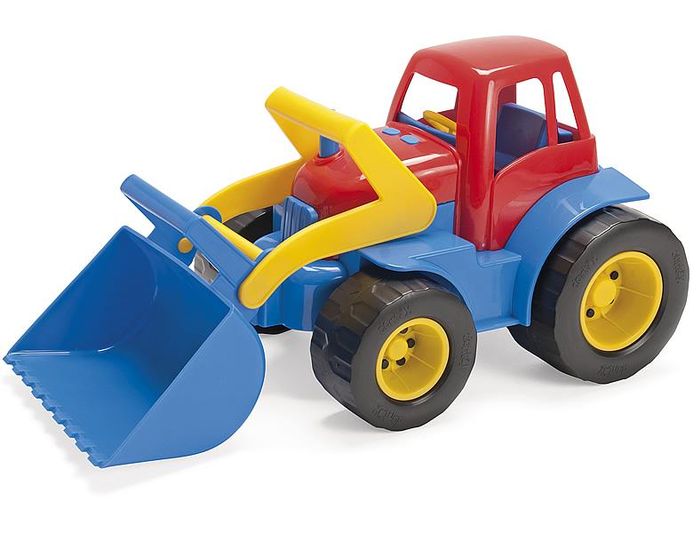 Dantoy traktor mit frontlader sandkasten