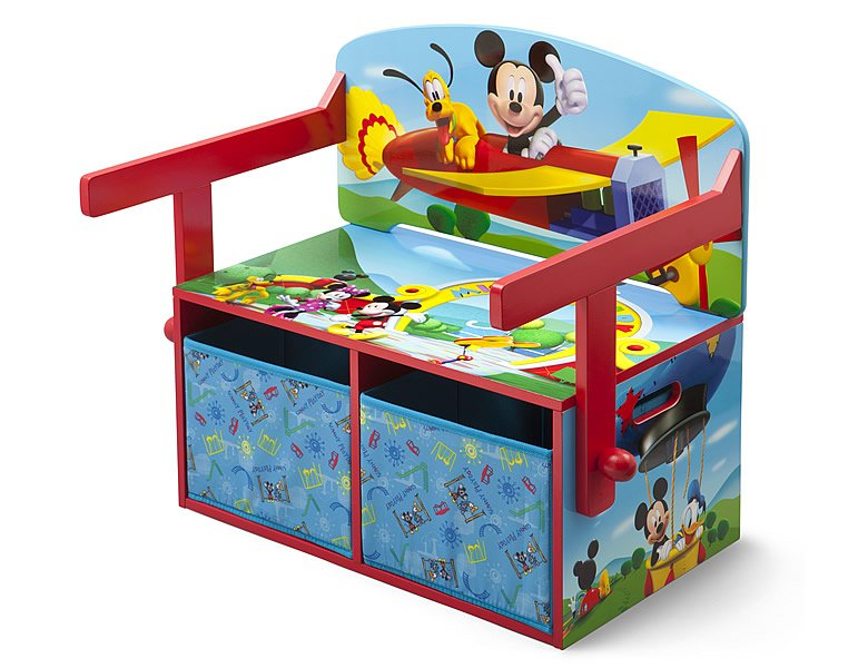 delta children mickey mouse 3 in 1 bank kinderm bel. Black Bedroom Furniture Sets. Home Design Ideas