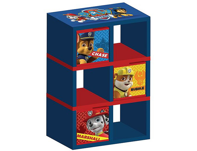 delta children paw patrol regal 30x17x76cm aufbewahrung. Black Bedroom Furniture Sets. Home Design Ideas