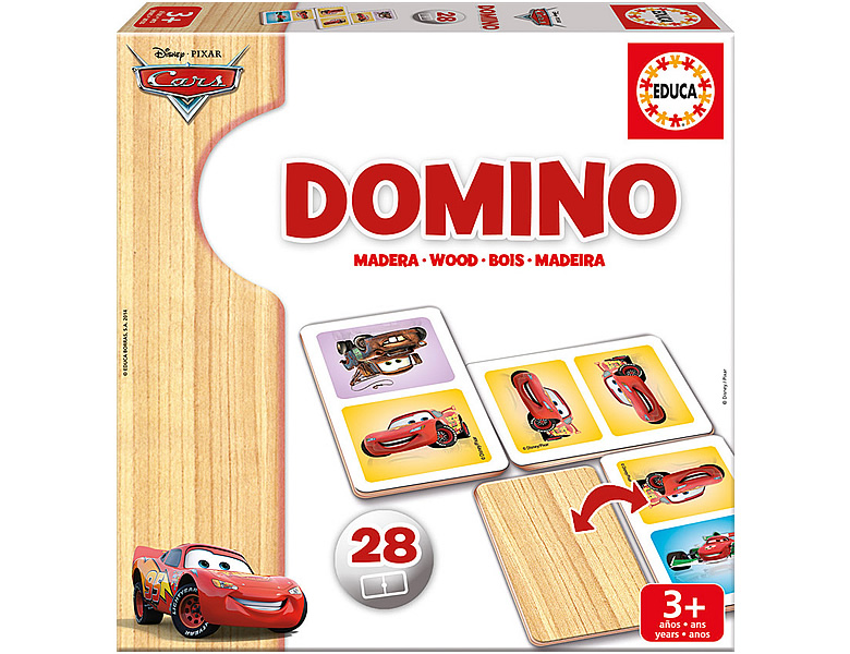 Educa Holz-Domino Disney Cars