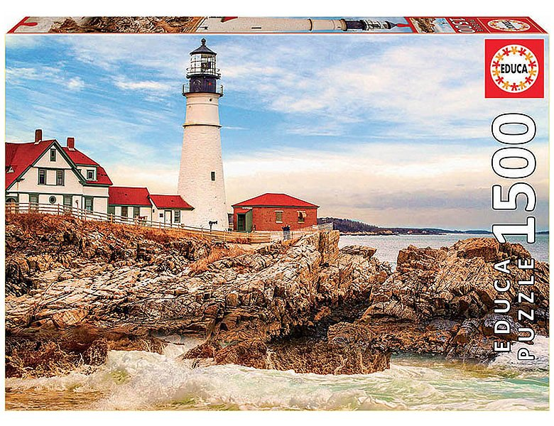 Educa Puzzle Rocky Lighthouse 1500Teile