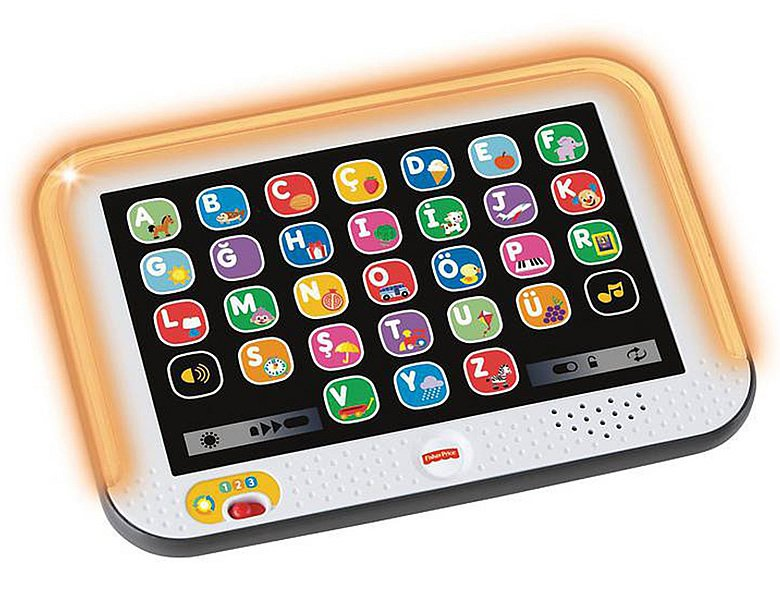 Fisher-Price Lernspass Tablet Grau