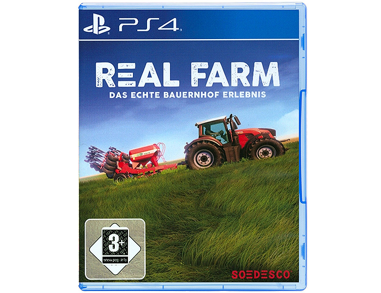game ps4 best of real farm playstation 4. Black Bedroom Furniture Sets. Home Design Ideas