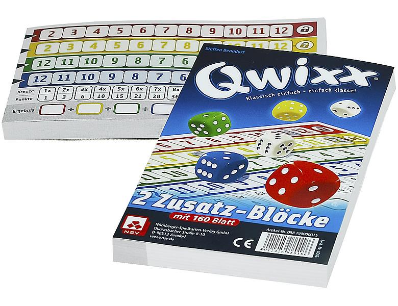 Würfelspiel Qwixx
