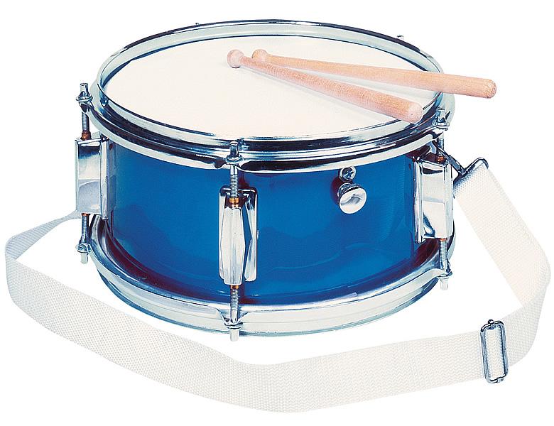 goki spielmannszug trommel mit snare blau schlagzeuge rhythmus. Black Bedroom Furniture Sets. Home Design Ideas