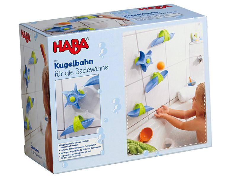 haba kleinkind kugelbahn f r die badewanne badespass. Black Bedroom Furniture Sets. Home Design Ideas