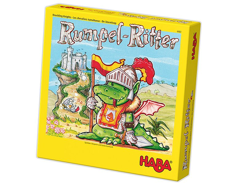haba spiele rumpel ritter kinderbrettspiele. Black Bedroom Furniture Sets. Home Design Ideas