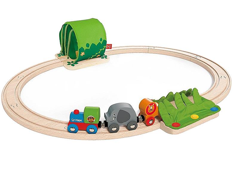 Hape Abenteuer Eisenbahn-Set Holz