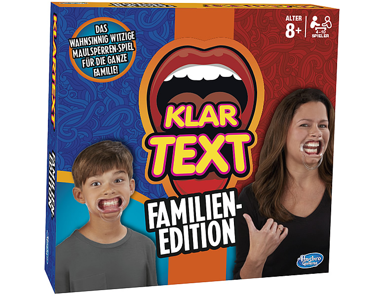 Hasbro Gaming Klartext Familienedition
