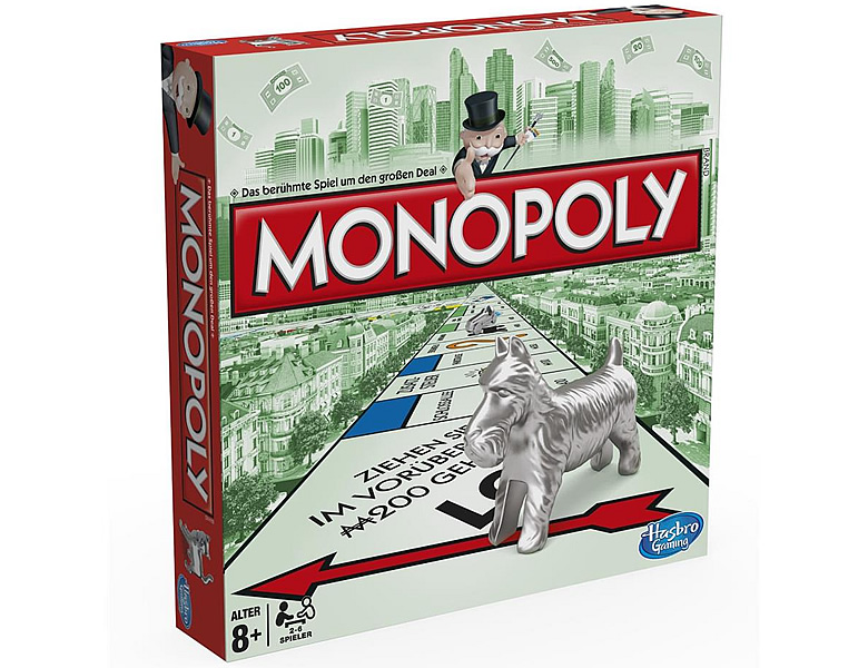 Hasbro Gaming Monopoly Classic Swiss Edition