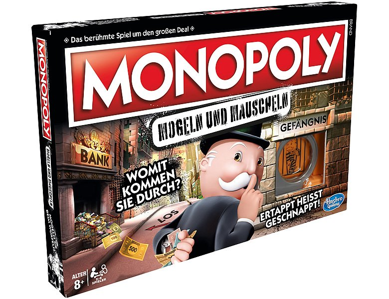 Hasbro Gaming Monopoly Cheater Swiss Edition