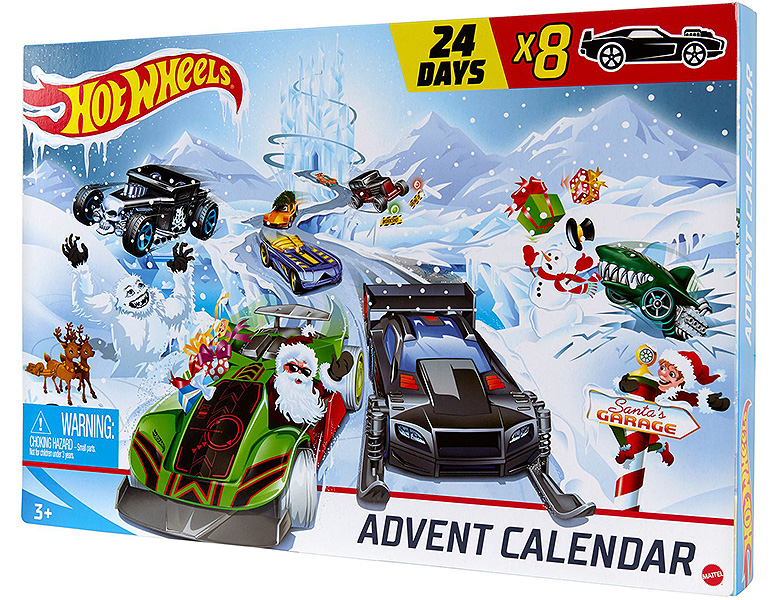 Hot Wheels Adventskalender 2020