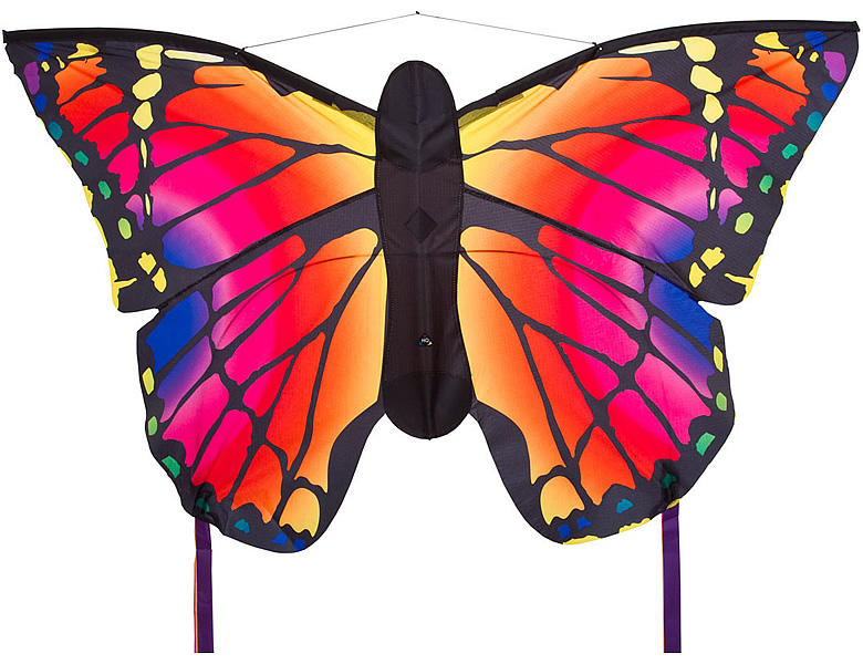 HQ Invento Butterfly Kinderdrachen Kite Ruby L