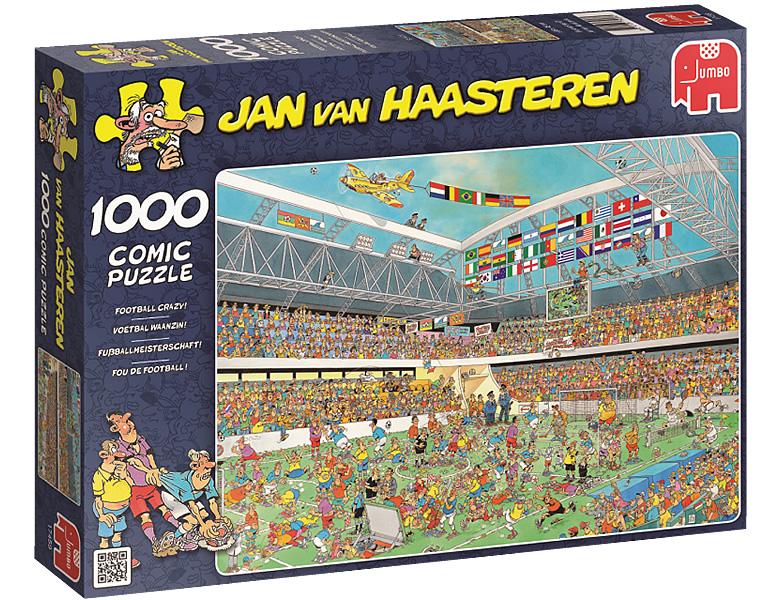 Jumbo Puzzle Jan Van Haasteren Fussball Weltmeisterschaft 1000teile